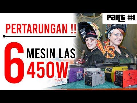 Pertarungan SENGIT ! 6 mesin las / trafo las 450 watt TERLARIS dan TERMURAH tahun 2019, PART 1