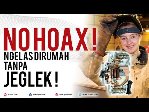 NO HOAX ! Mengelas Menggunakan Listrik Rumahan 900 Watt Tanpa Jeglek (FULL VERSION)