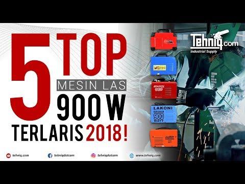 TOP 5 Mesin Las 900 Watt Terlaris Sepanjang Tahun 2018