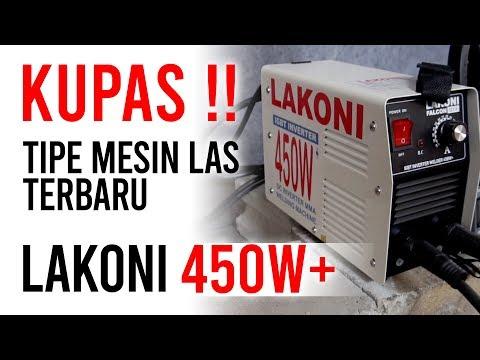 BONGKAR kualitas LAKONI FALCON 123iX 450 WATT, mesin las / trafo las murah harga 500ribuan !