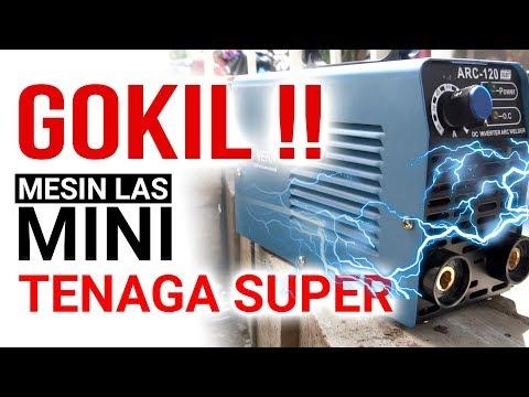 Stahlwerk ARC120 - Trafo Las Mini Tenaga Super ! FAKTA kehebatan mesin las 900 watt merek STAHLWERK