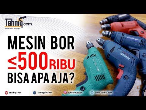 Review 5 merek mesin bor DIBAWAH 500 RIBU, kira-kira bisa apa aja ya?